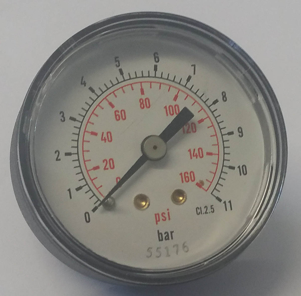 G1/8 Back Entry Pressure Gauge (40mm)