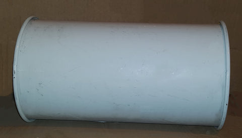 1m Length of OKR160 Galvanised Pipe
