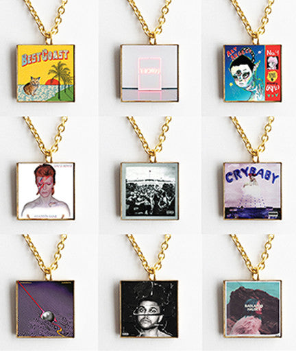Album Art Mini Cover Jewelry