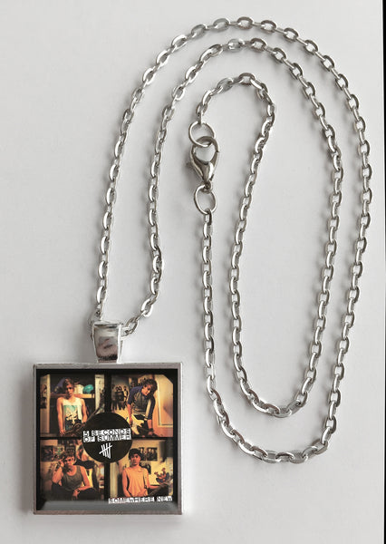 5 Seconds of Summer - Somewhere New - Album Cover Art Pendant Necklace