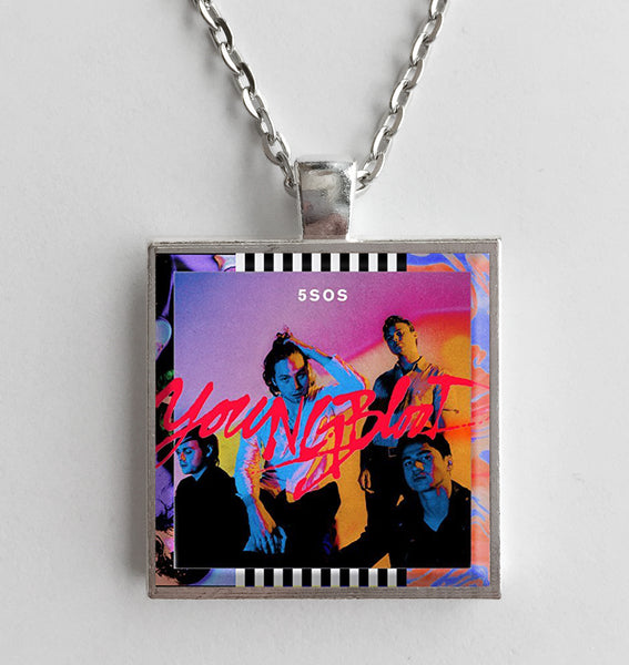 5 Seconds of Summer - Youngblood - Album Cover Art Pendant Necklace
