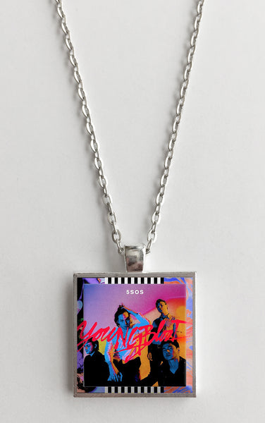 5 Seconds of Summer - Youngblood - Album Cover Art Pendant Necklace - Hollee