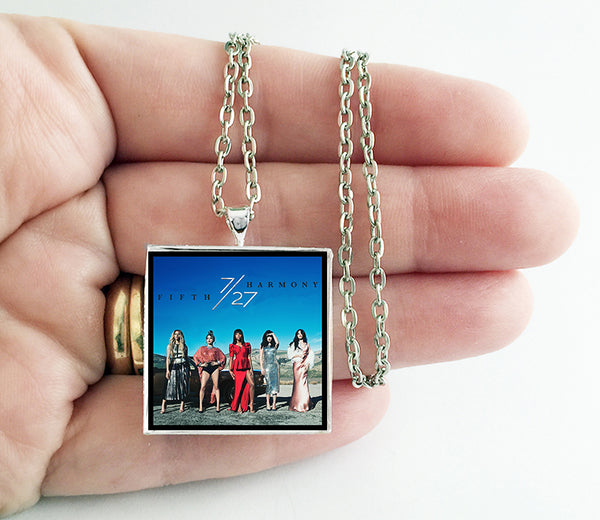 Fifth Harmony - 7/27 - Album Cover Art Pendant Necklace - Hollee