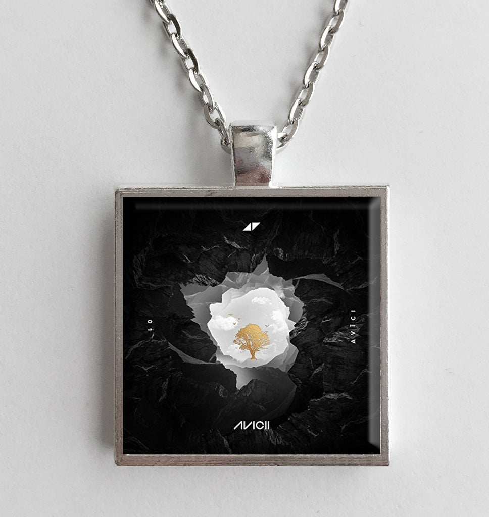 Avicii - 01 - Album Cover Art Pendant Necklace - Hollee