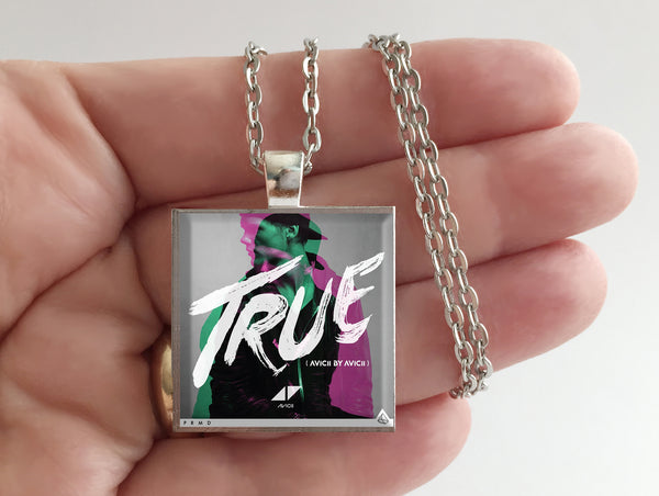 Avicii - True - Album Cover Art Pendant Necklace - Hollee