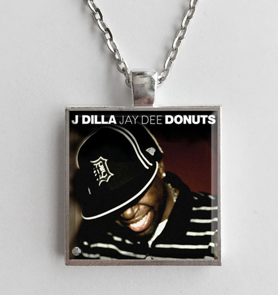 J Dilla - Donuts - Album Cover Art Pendant Necklace