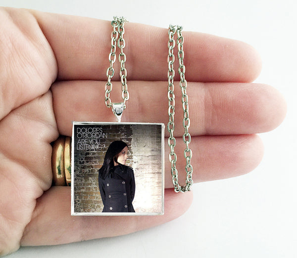 Dolores O'Riordan - Are You Listening? - Album Cover Art Pendant Necklace