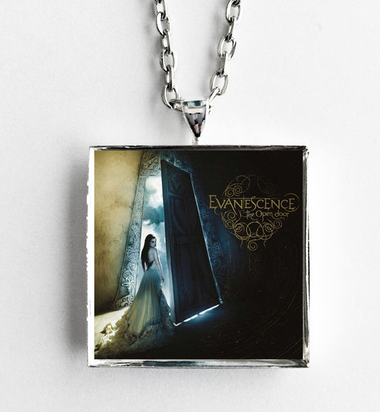 Evanescence - The Open Door - Album Cover Art Pendant Necklace - Hollee