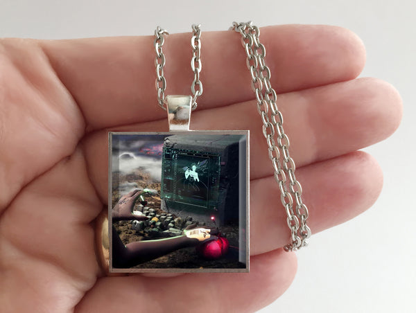 Grimes - Miss Anthropocene - Album Cover Art Pendant Necklace - Hollee