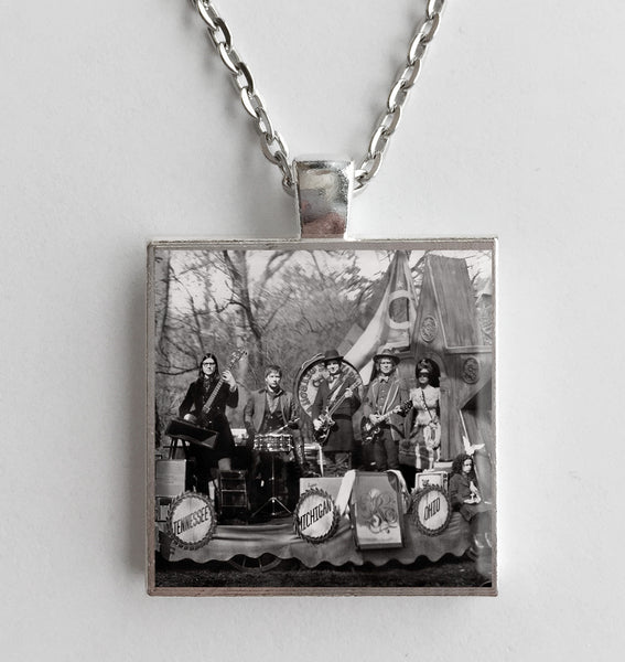 The Raconteurs - Consolers Of The Lonely - Album Cover Art Pendant Necklace - Hollee