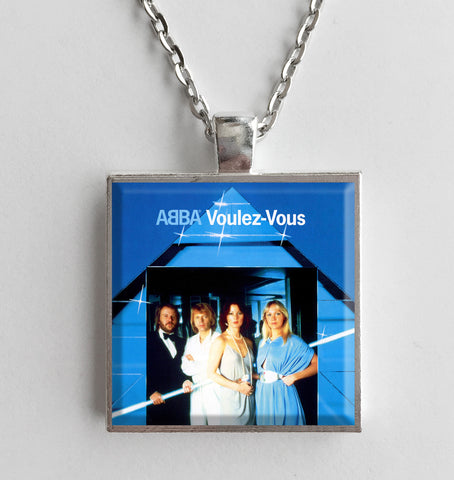 ABBA - Voulez-Vous - Album Cover Art Pendant Necklace - Hollee