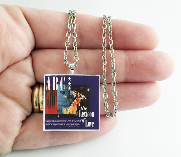ABC - The Lexicon of Love - Album Cover Art Pendant Necklace