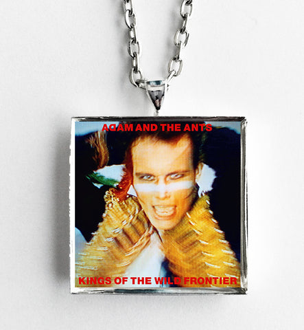 Adam and the Ants - Kings of the Wild Frontier - Album Cover Art Pendant Necklace - Hollee