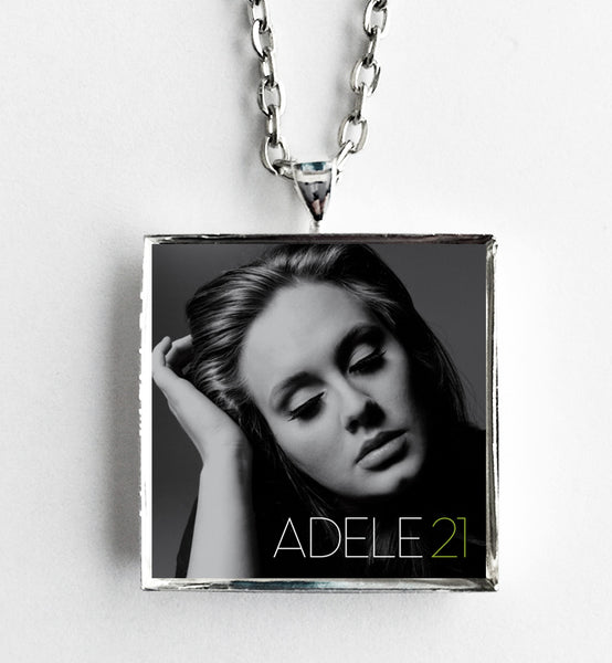 Adele - 21 - Album Cover Art Pendant Necklace - Hollee