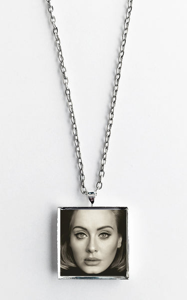 Adele - 25 - Album Cover Art Pendant Necklace - Hollee