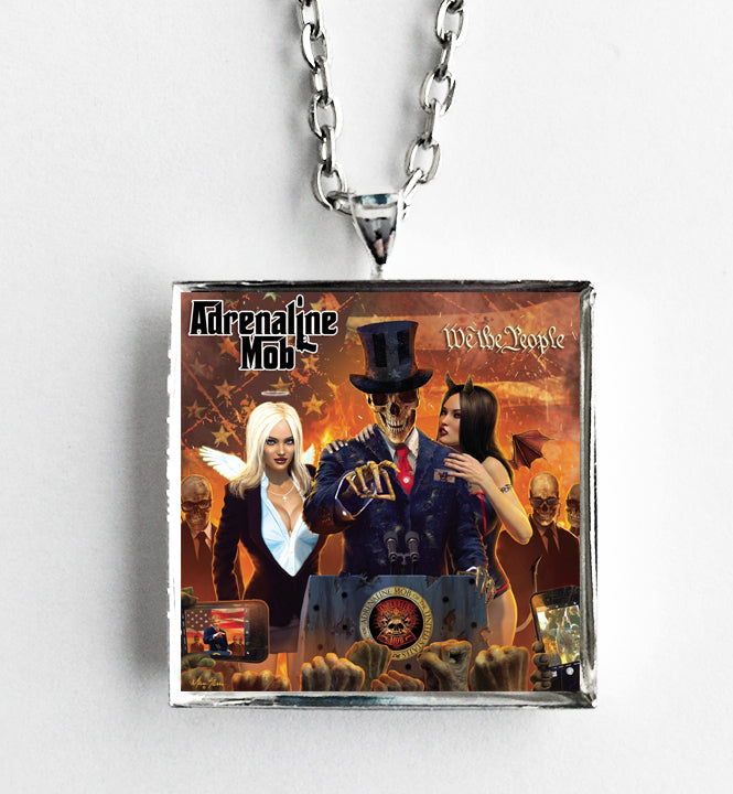 Adrenaline Mob - We The People - Album Cover Art Pendant Necklace - Hollee