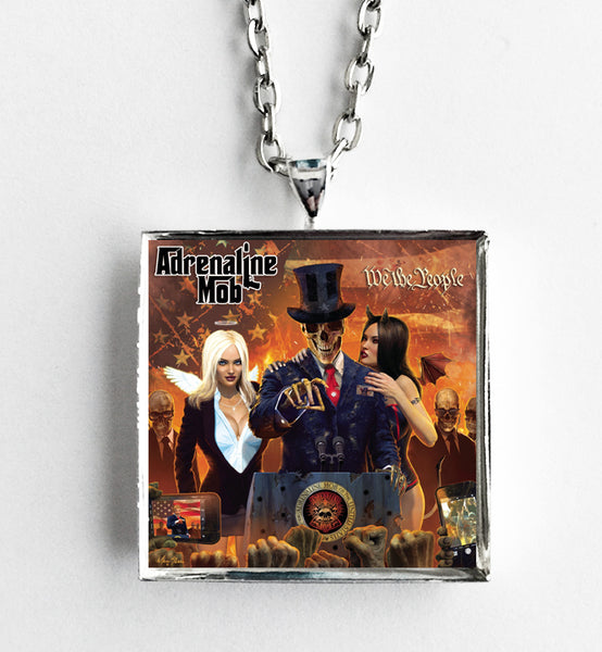 Adrenaline Mob - We The People - Album Cover Art Pendant Necklace