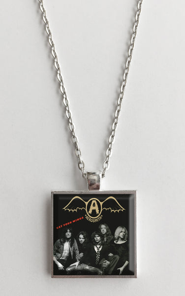 Aerosmith - Get Your Wings - Album Cover Art Pendant Necklace - Hollee