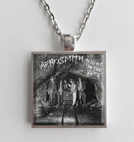 Aerosmith - Night in the Ruts - Album Cover Art Pendant Necklace - Hollee