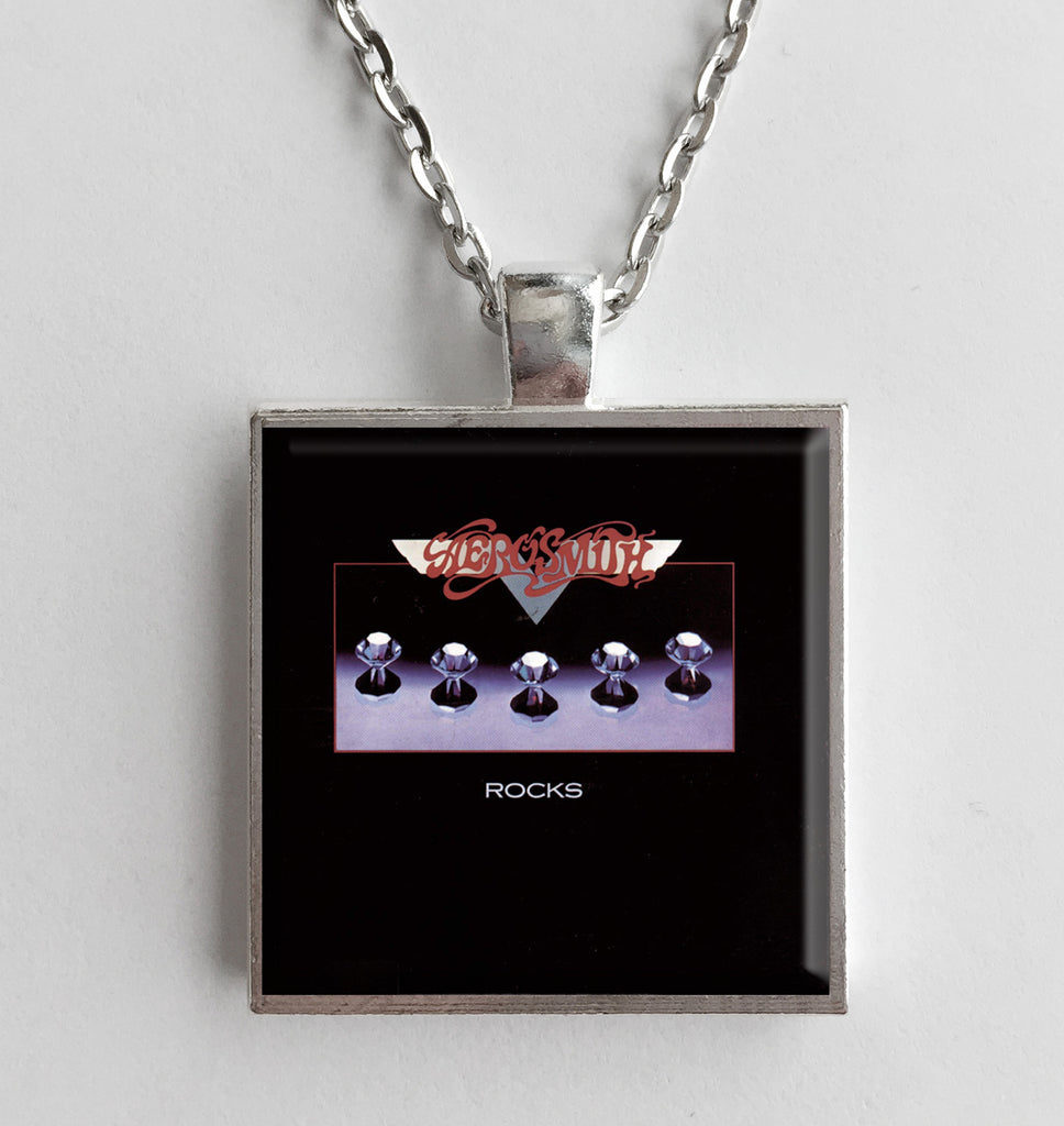 Aerosmith - Rocks - Album Cover Art Pendant Necklace - Hollee