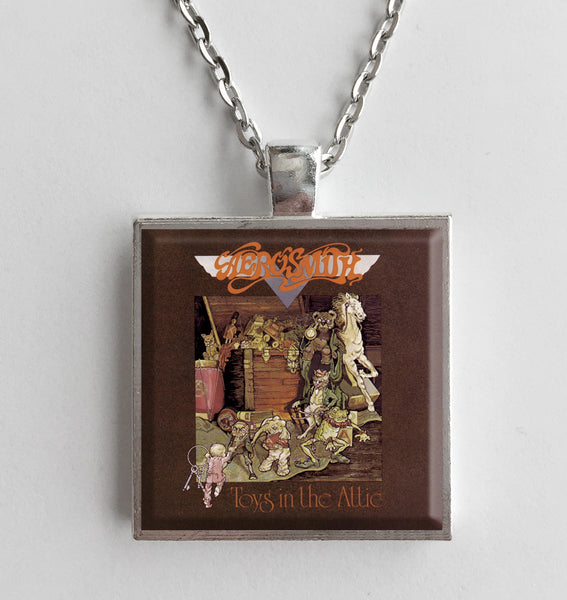 Aerosmith - Toys in the Attic - Album Cover Art Pendant Necklace - Hollee