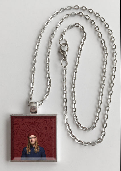 Allen Stone - Building Balance - Album Cover Art Pendant Necklace - Hollee
