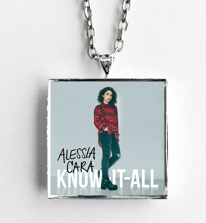 Alessia Cara - Know-It-All - Album Cover Art Pendant Necklace - Hollee