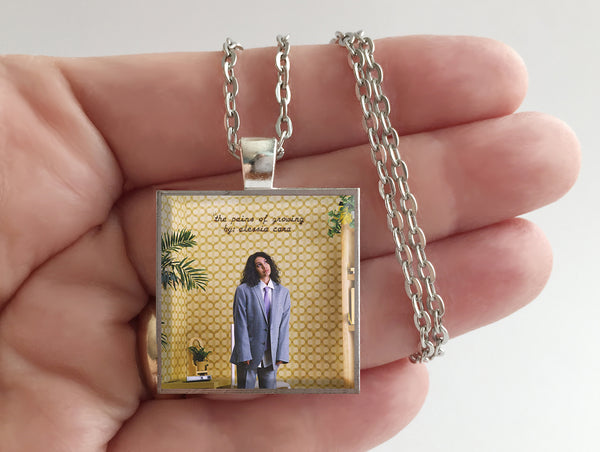 Alessia Cara - The Pains of Growing - Album Cover Art Pendant Necklace