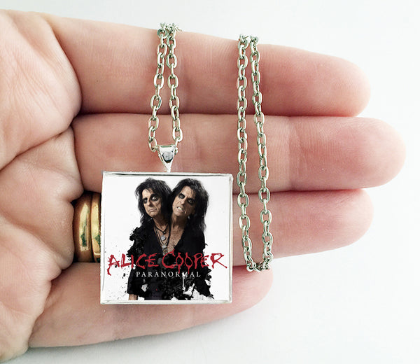 Alice Cooper - Paranormal - Album Cover Art Pendant Necklace - Hollee