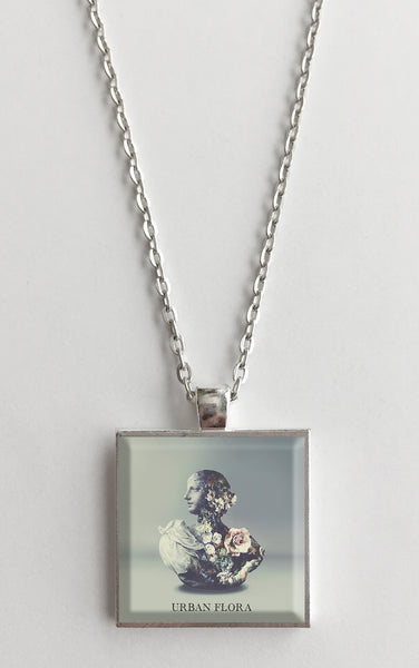 Alina Baraz - Urban Flora - Album Cover Art Pendant Necklace - Hollee