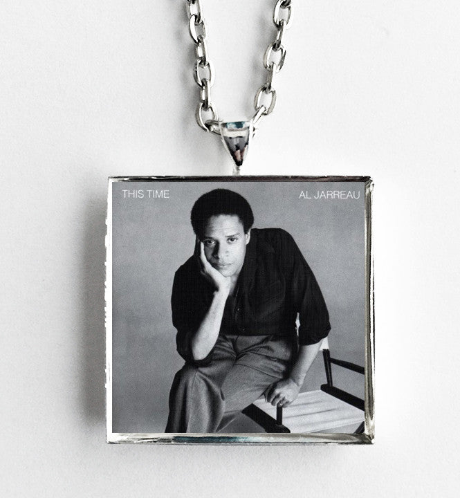 Al Jarreau - This Time - Album Cover Art Pendant Necklace - Hollee