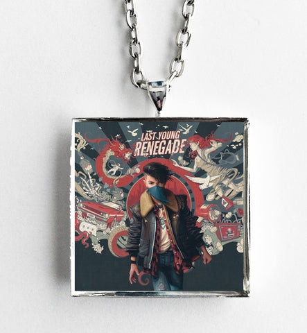 All Time Low - Last Young Renegade - Album Cover Art Pendant Necklace