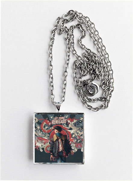 All Time Low - Last Young Renegade - Album Cover Art Pendant Necklace - Hollee