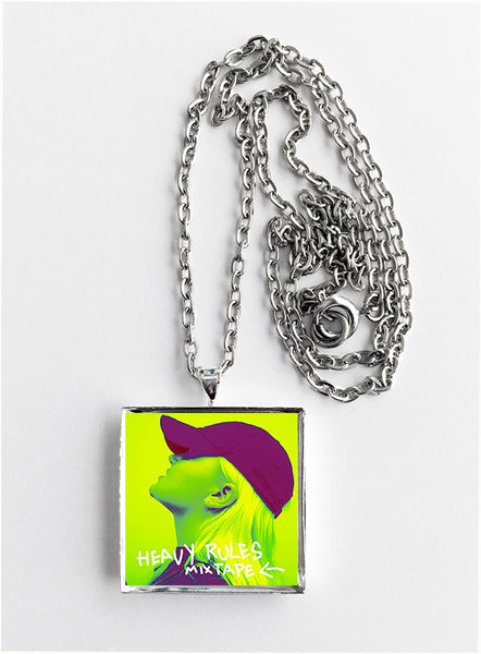 Alma - Heavy Rules Mixtape - Album Cover Art Pendant Necklace - Hollee