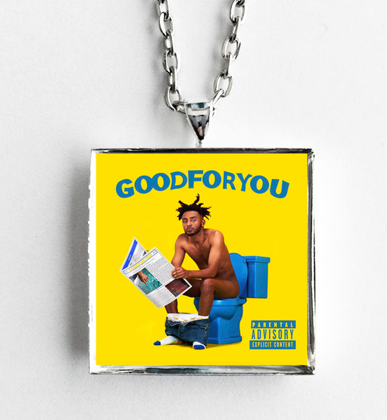 Amine - Good For You - Album Cover Art Pendant Necklace - Hollee