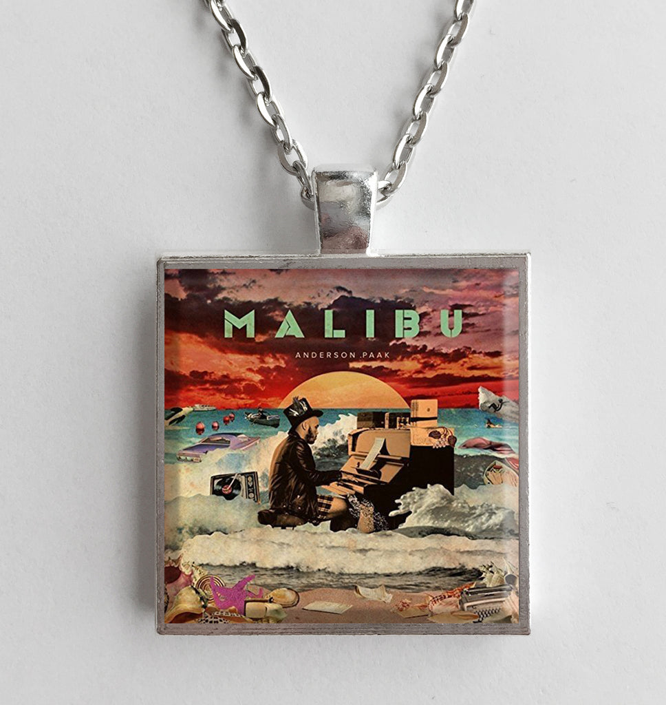 Anderson Paak - Malibu - Album Cover Art Pendant Necklace - Hollee
