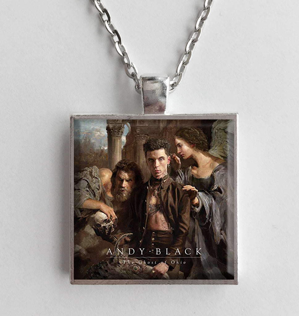 Andy Black - The Ghost of Ohio - Album Cover Art Pendant Necklace - Hollee