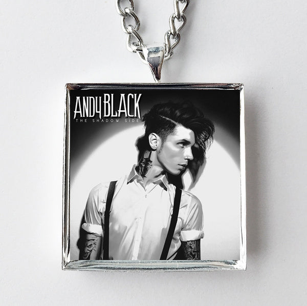Andy Black - The Shadow Side - Album Cover Art Pendant Necklace - Hollee