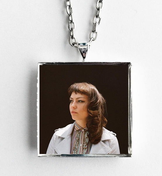 Angel Olsen - My Woman - Album Cover Art Pendant Necklace - Hollee