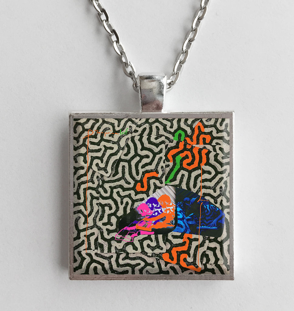 Animal Collective - Tangerine Reef - Album Cover Art Pendant Necklace - Hollee