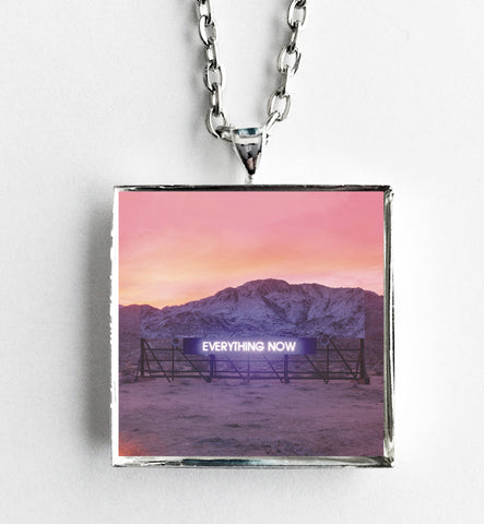 Arcade Fire - Everything Now - Album Cover Art Pendant Necklace