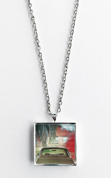 Arcade Fire - The Suburbs - Album Cover Art Pendant Necklace - Hollee