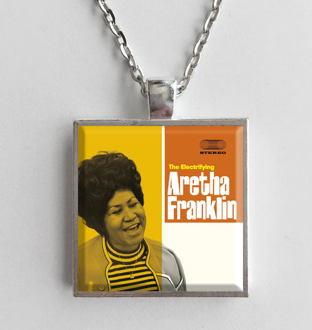 Aretha Franklin - The Electrifying - Album Cover Art Pendant Necklace