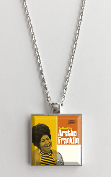 Aretha Franklin - The Electrifying - Album Cover Art Pendant Necklace - Hollee