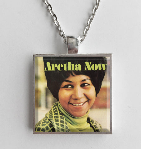 Aretha Franklin - Now - Album Cover Art Pendant Necklace