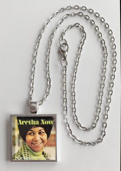 Aretha Franklin - Now - Album Cover Art Pendant Necklace - Hollee