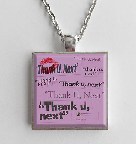 Ariana Grande - Thank U, Next - Album Cover Art Pendant Necklace (Single)
