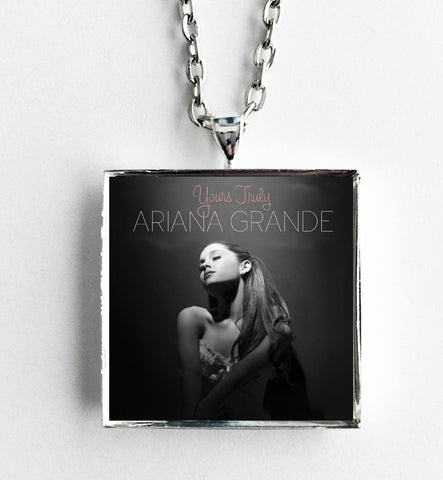 Ariana Grande - Yours Truly - Album Cover Art Pendant Necklace - Hollee