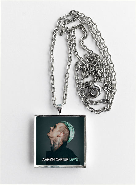 Aaron Carter - Love - Album Cover Art Pendant Necklace - Hollee