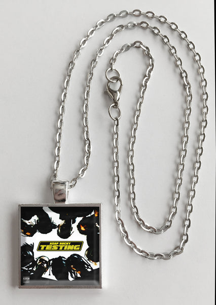 A$AP Rocky - Testing - Album Cover Art Pendant Necklace - Hollee